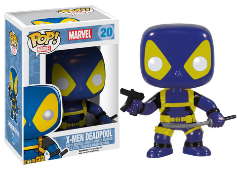 X-Men Deadpool Funko Pop! Marvel Vinyl Figure officially licensed X-Men product at B.A. Toys.