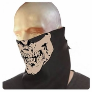 Gears of War 3 Neca Locust Face Bandana officially licensed Gears of War 3 product at B.A. Toys.