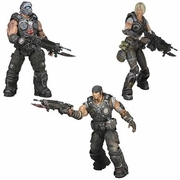 Gears of War SERIES 1 Action Figure SET officially licensed Gears of War product at B.A. Toys.