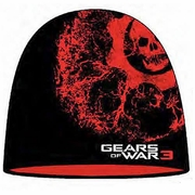 Gears of War Vein Omen Beanie Hat officially licensed Gears of War product at B.A. Toys.