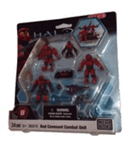 Halo Mega Bloks Exclusive Red Covenant Combat Unit officially licensed Halo Mega Bloks Exclusive product at B.A. Toys.