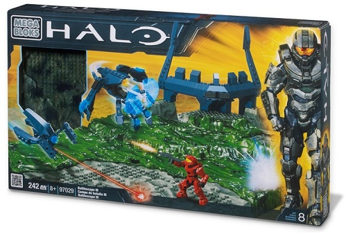 Halo Mega Bloks Battlescape III [3] officially licensed Halo Mega Bloks product at B.A. Toys.