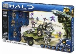 Halo Mega Bloks Exclusive Covenant Strike Playset officially licensed Halo Mega Bloks Exclusive product at B.A. Toys.