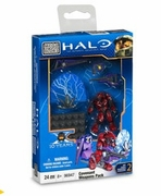 Halo Mega Bloks Crimson Combat Elite officially licensed Halo Mega Bloks product at B.A. Toys.