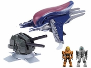 Halo Mega Bloks Orbital Banshee Blitz officially licensed Halo Mega Bloks product at B.A. Toys.