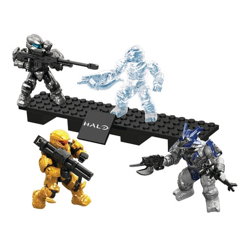 Halo Mega Bloks Spartan Assault Battle Pack [Palmer & Davis] officially licensed Halo Mega Bloks product at B.A. Toys.