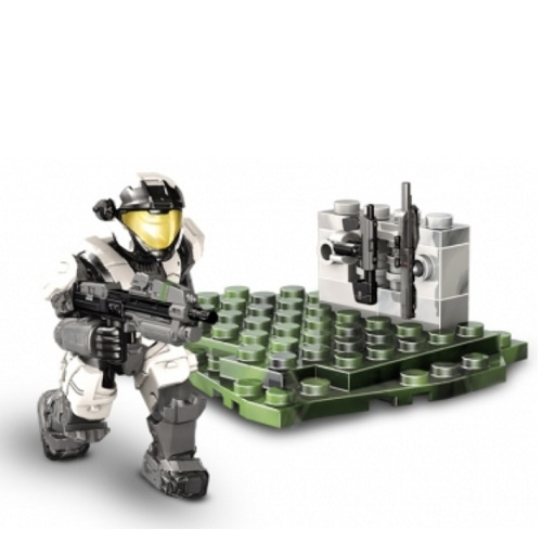 Halo Mega Bloks UNSC Armory Pack II officially licensed Halo Mega Bloks product at B.A. Toys.