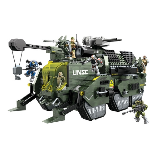 Halo Mega Bloks UNSC Elephant Troop Carrier [Carter & Jun!] officially licensed Halo Mega Bloks product at B.A. Toys.