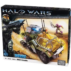 Halo Mega Bloks UNSC Gremlin officially licensed Halo Mega Bloks product at B.A. Toys.