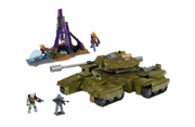 Halo Mega Bloks UNSC Rhino officially licensed Halo Mega Bloks product at B.A. Toys.