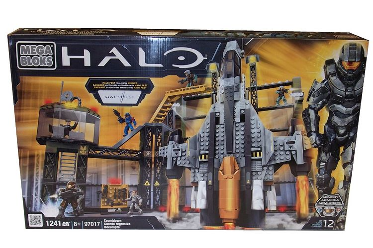 Halo Mega Bloks Countdown officially licensed Halo Mega Bloks product at B.A. Toys.