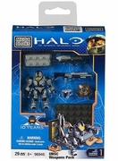 Halo Mega Bloks UNSC Silver CQB Weapon Pack officially licensed Halo Mega Bloks product at B.A. Toys.