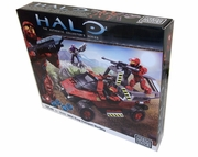 Halo Mega Bloks Exclusive UNSC Troop Transport Warthog officially licensed Halo Mega Bloks Exclusive product at B.A. Toys.