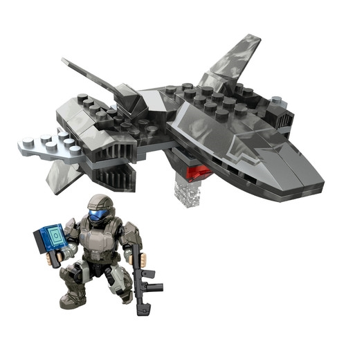 Halo Mega Bloks UNSC Wombat Attack [Recon Drone] officially licensed Halo Mega Bloks product at B.A. Toys.