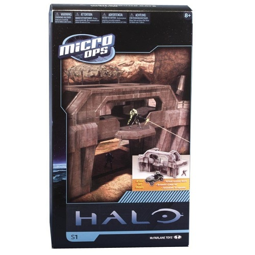 McFarlane Halo Micro Ops Series 1 High Ground Gate officially licensed McFarlane Halo product at B.A. Toys.