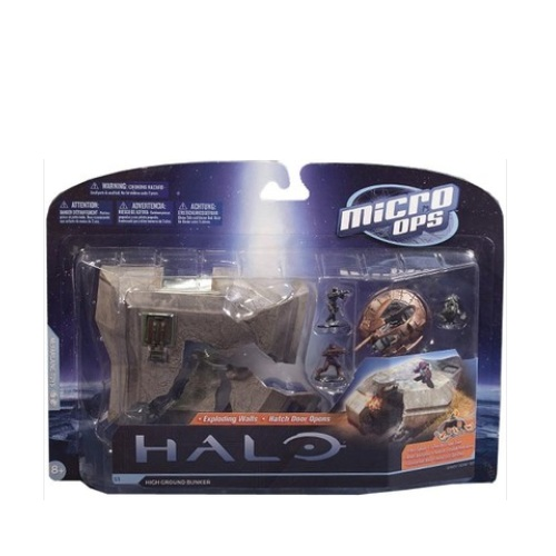 McFarlane Halo Micro Ops Series 1 High Ground Bunker officially licensed McFarlane Halo product at B.A. Toys.