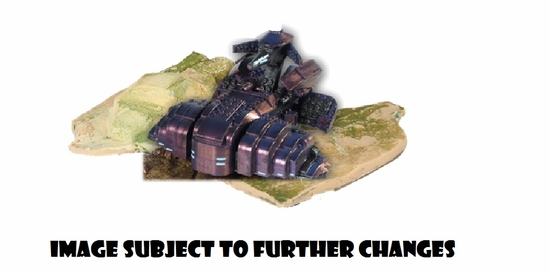 Halo Universe Covenant Wraith Heavy Armored Vehicle officially licensed Halo Universe product at B.A. Toys.