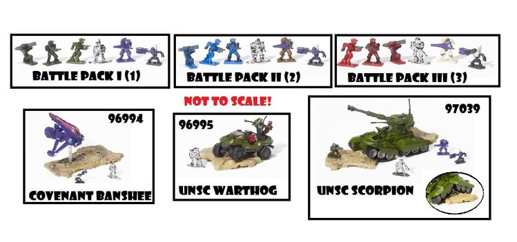 Halo Universe Diecast Metal Wave 1 Complete Set officially licensed Halo Universe product at B.A. Toys.