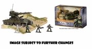 Halo Universe UNSC Scorpion Heavy Armored Vehicle officially licensed Halo Universe product at B.A. Toys.