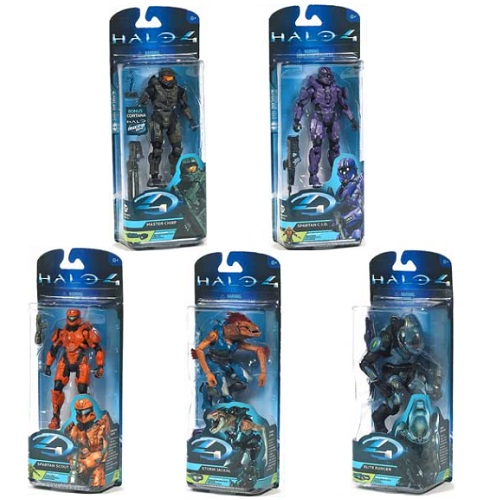 Halo 4 Series 2 Set of 5 Action Figures officially licensed Halo 4 product at B.A. Toys.