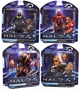 McFarlane Halo 4 Series 1 Set of 4 Action Figures officially licensed McFarlane product at B.A. Toys.