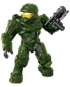 Halo Mega Bloks Master Chief Mini Figure in full armor with weapon.