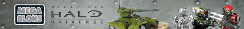 Halo Universe mini metal figures running in front of green UNSC die-cast Scorpion Tank.