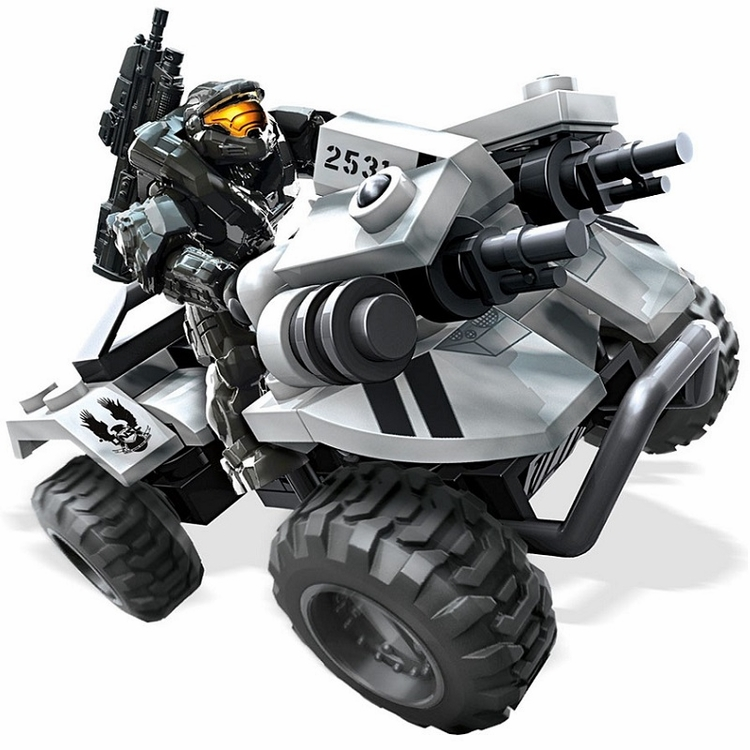 Halo Mega Bloks 2015 UNSC Gungoose Set officially licensed Mega Bloks Halo product at B.A. Toys.