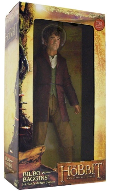 Hobbit Bilbo Baggins 1/4 Scale Figure is an officially licensed, authentic Hobbit product at B.A. Toys featuring Bilbo Baggins 1/4 Scale Figure by Hobbit
