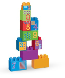 Mega Bloks Maxi 1 2 3... Build Big! officially licensed Mega Bloks Maxi product at B.A. Toys.