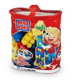 Mega Bloks Maxi Classic 80 Piece Bag officially licensed Mega Bloks Maxi product at B.A. Toys.