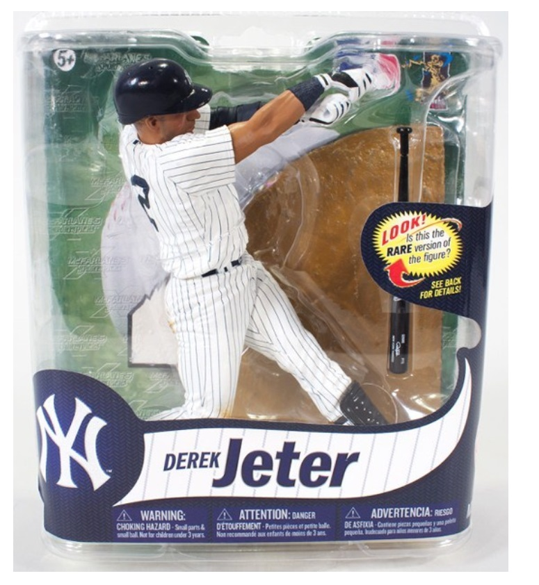 McFarlane Sports Picks MLB Derek Jeter [Pin Stripes] Series 31 officially licensed McFarlane Sports Picks MLB product at B.A. Toys.