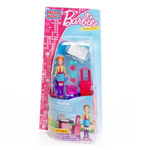 Mega Bloks Barbie Vacation Time Summer Barbie officially licensed Mega Bloks Barbie product at B.A. Toys.
