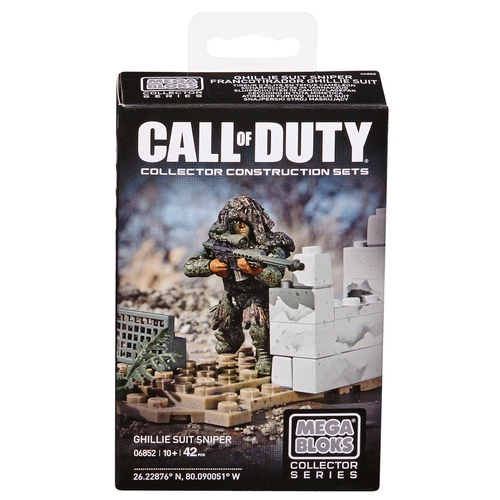 2014 Mega Bloks Call of Duty Ghilly Suit Sniper