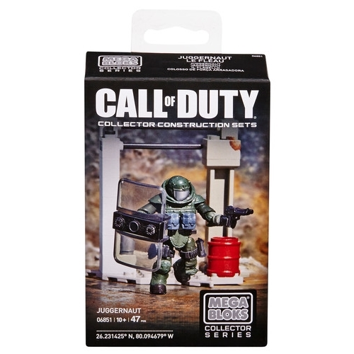 2014 Mega Bloks Call of Duty Juggernaut is an officially licensed, authentic Mega Bloks Call of Duty product at B.A. Toys featuring Juggernaut by Mega Bloks Call of Duty
