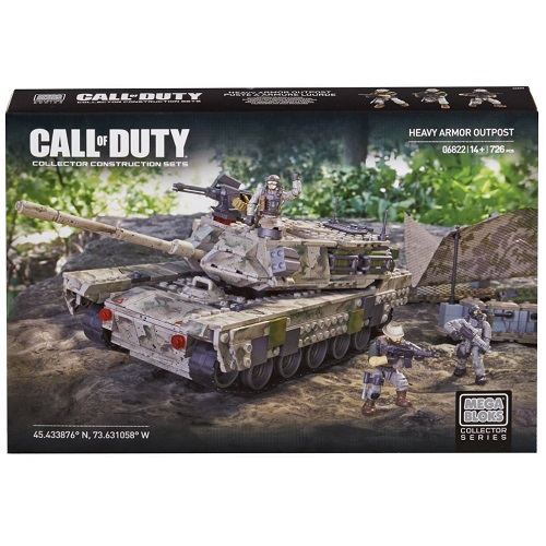 Mega Bloks Call of Duty COD Set 6822 features building block brick figures and accessories from Call of Duty, Lego & BrickArms compatible