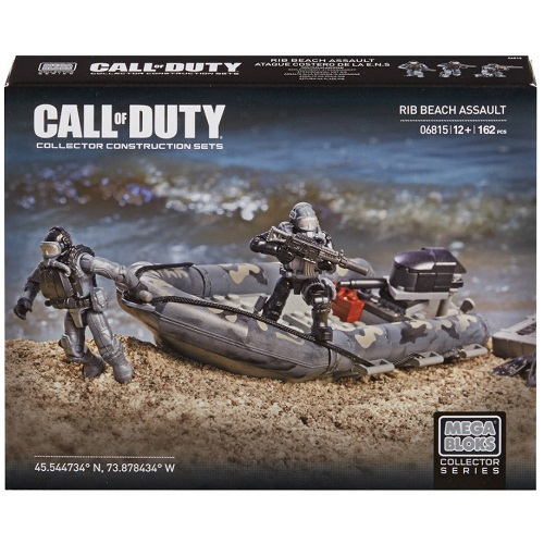 Mega Bloks Call of Duty RIB Beach Assault is an officially licensed, authentic Mega Bloks Call of Duty product at B.A. Toys featuring RIB Beach Assault by Mega Bloks Call of Duty