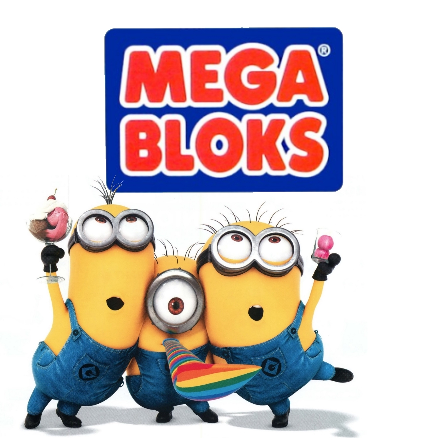 Mega Bloks Despicable ME Minions Celebration B.A. Toys Blitz Bundle officially licensed Mega Bloks Despicable Me product at B.A. Toys.