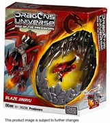 Dragons Universe Mega Bloks Blaze Jinryu is an officially licensed, authentic Dragons Universe Mega Bloks product at B.A. Toys featuring Blaze Jinryu by Dragons Universe Mega Bloks