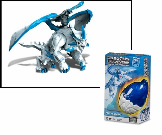 Dragons Universe Mega Bloks Freeze Glaryu is an officially licensed, authentic Dragons Universe Mega Bloks product at B.A. Toys featuring Freeze Glaryu by Dragons Universe Mega Bloks