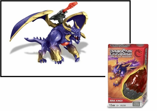 Dragons Universe Mega Bloks Soul Kaiga is an officially licensed, authentic Dragons Universe Mega Bloks product at B.A. Toys featuring Soul Kaiga by Dragons Universe Mega Bloks