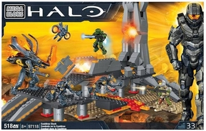 Halo Mega Bloks Cauldron Clash officially licensed Halo Mega Bloks product at B.A. Toys.