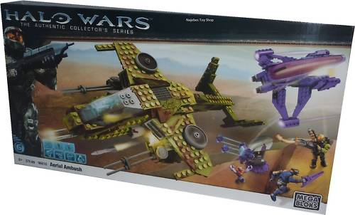 Halo Mega Bloks Aerial Ambush officially licensed Halo Mega Bloks product at B.A. Toys.