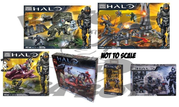 Halo Mega Bloks Amazing BAToys Bundle BONUS officially licensed Halo Mega Bloks product at B.A. Toys.