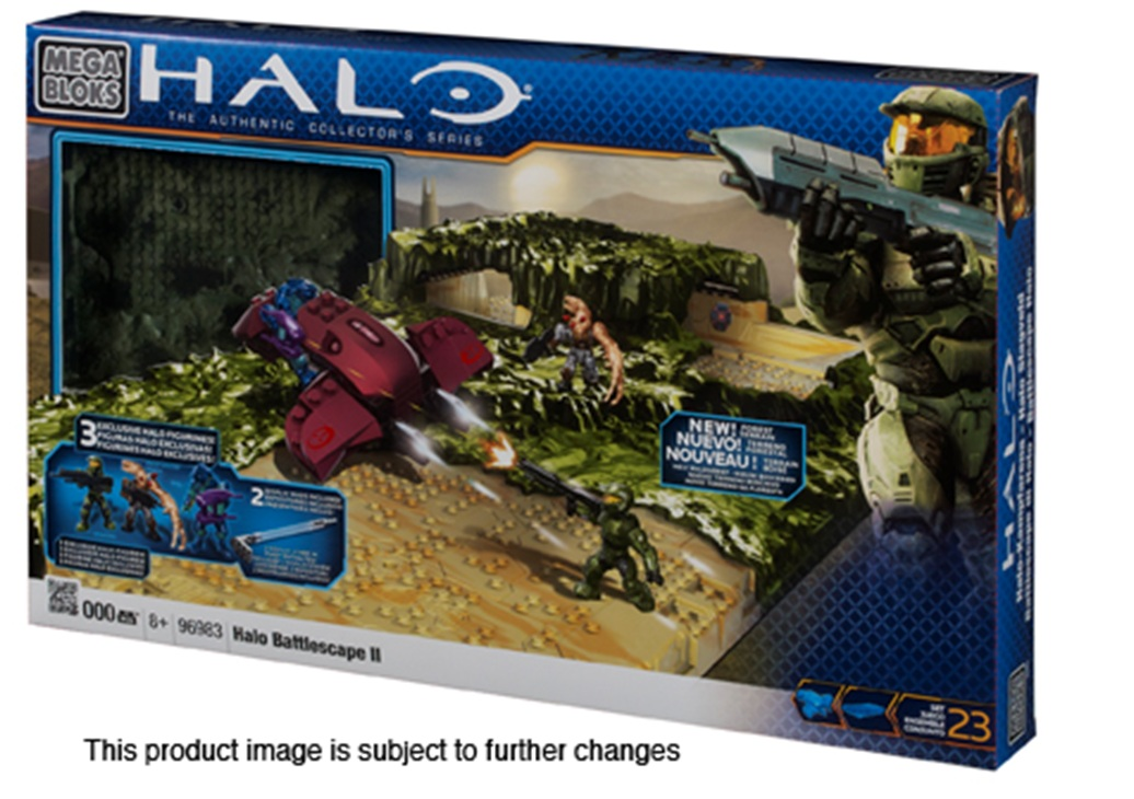 Halo Mega Bloks Battlescape II [2] officially licensed Halo Mega Bloks product at B.A. Toys.