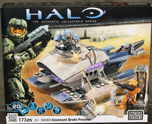 Halo Mega Bloks Set 96869 Covenant Brute Prowler officially licensed Halo Mega Bloks product at B.A. Toys.