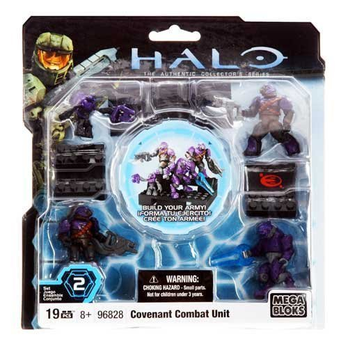 Halo Mega Bloks Purple Covenant Combat Unit officially licensed Halo Mega Bloks product at B.A. Toys.