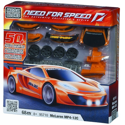 Need For Speed Mega Bloks McLaren MP4-12C officially licensed Need For Speed Mega Bloks product at B.A. Toys.