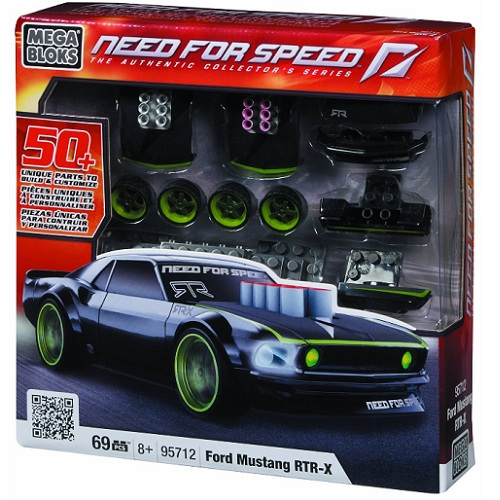 Mega Bloks Need For Speed Mustang RTR-X