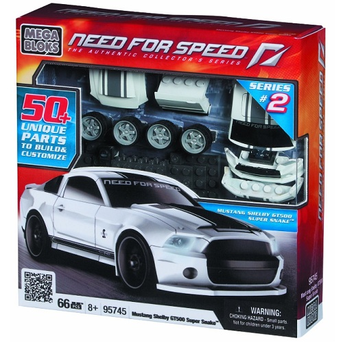 Mega Bloks Need For Speed Ford Shelby officially licensed Mega Bloks Need For Speed product at B.A. Toys.